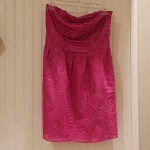 Express strapless dress size S
